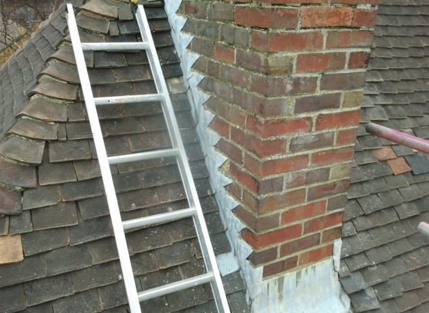 Chimney Stack Removal In Canterbury Ashford Building