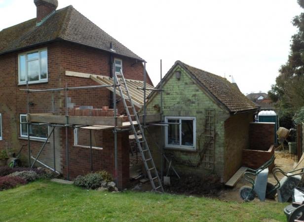 House Extension In Ashford Ashford Building Services