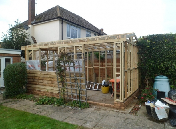 Garden office in ashford ashford building services Garden office kent